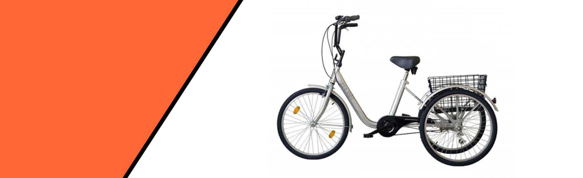 """Gommer 24"""" Háromkerekű kerékpár"""